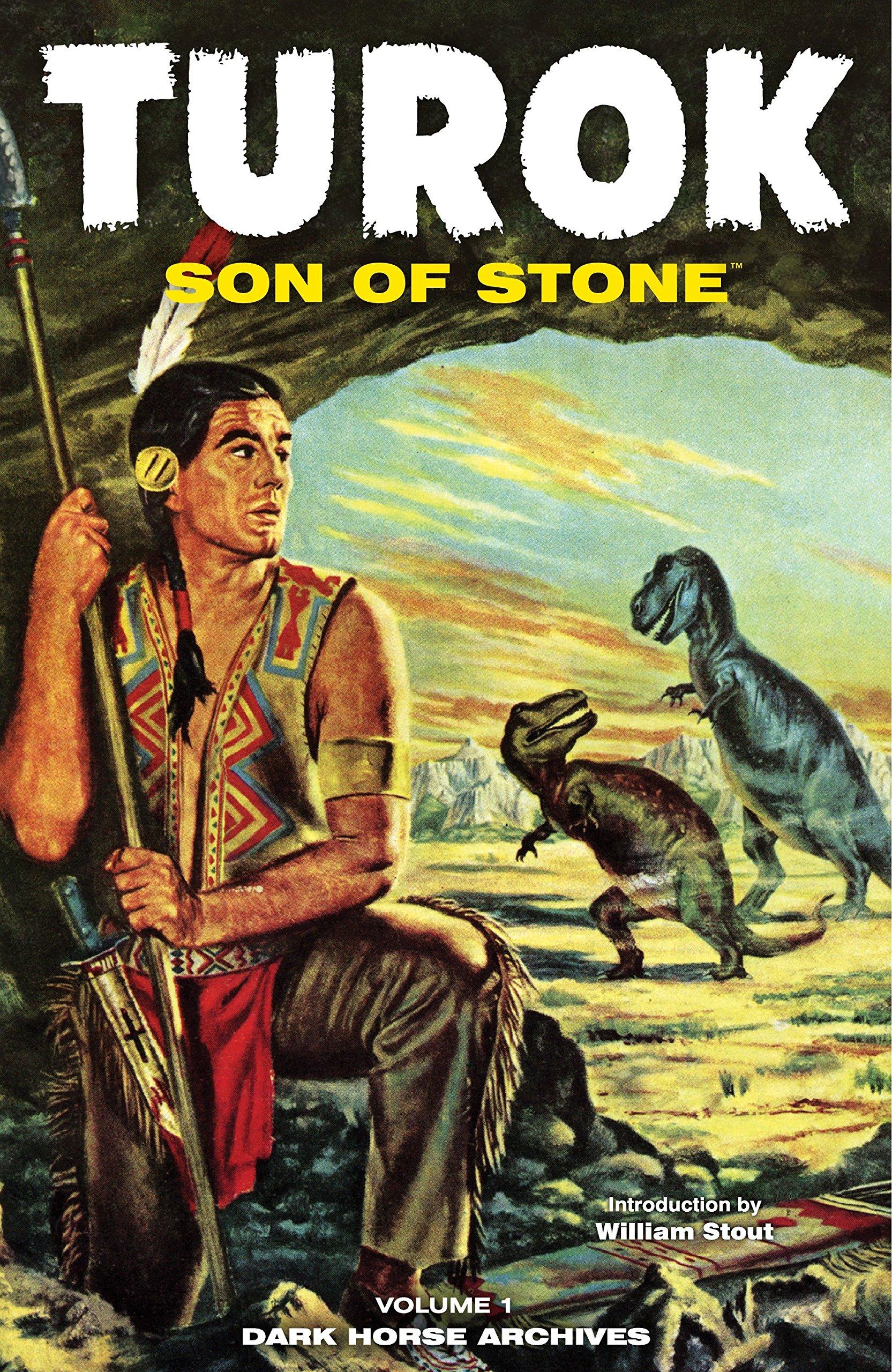 Turok Son Of Stone Archives Volume 1 Alberto Giolitti Matthew H Murphy Mark Evanier William Stout 9781595821553 Amazon Com Books