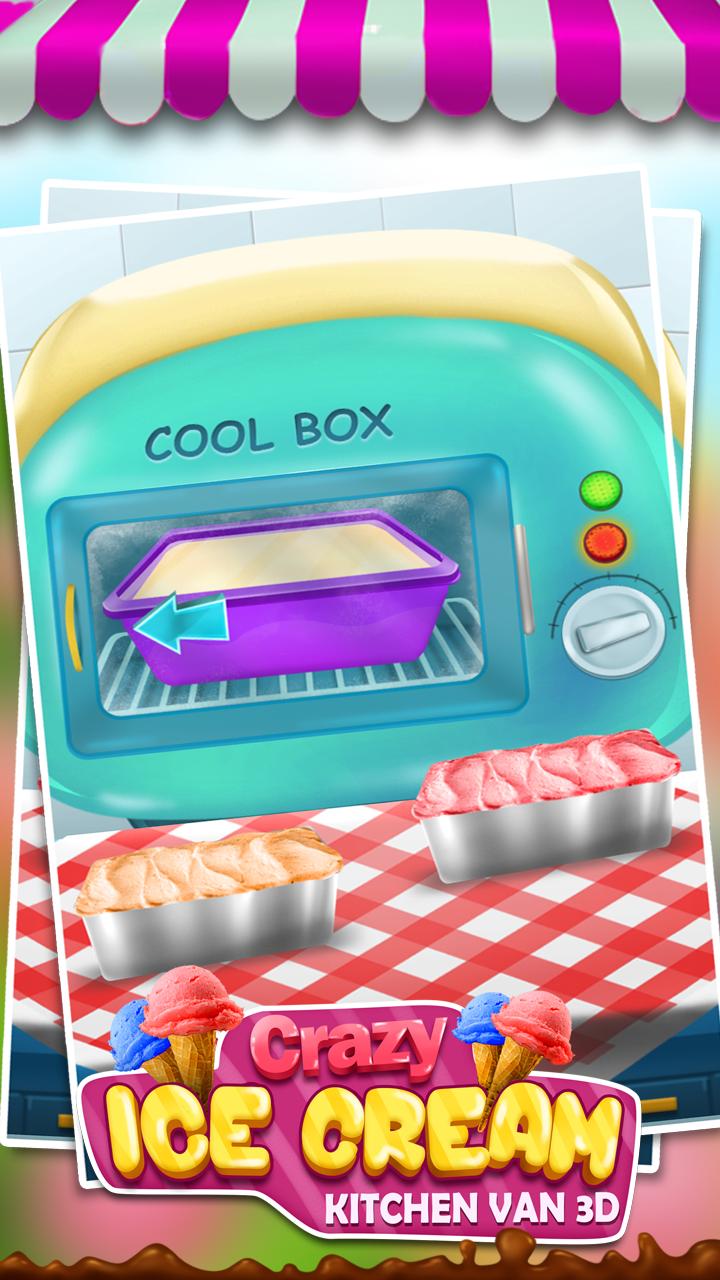 Amazon.com: Crazy Ice Cream Kitchen Van 3D: Appstore for Android