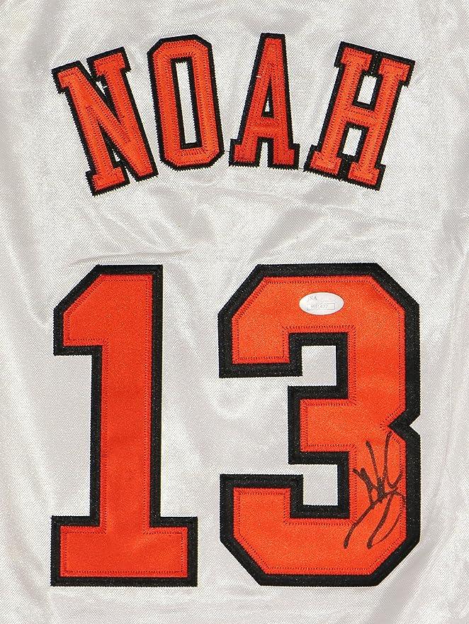 Joakim Noah Chicago Bulls Signed Autographed White  13 Jersey JSA COA at  Amazon s Sports Collectibles Store 4262b8702