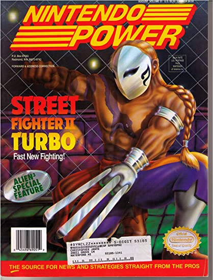 Nintendo Power Magazine - Street Fighter II Turbo: Amazon.es: Videojuegos