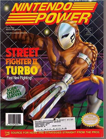Nintendo Power Magazine - Street Fighter II Turbo: Amazon.es ...