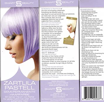 Smart Beauty Zartilla Pastell Semi-permanete Haarfarbe - ein zarter ...