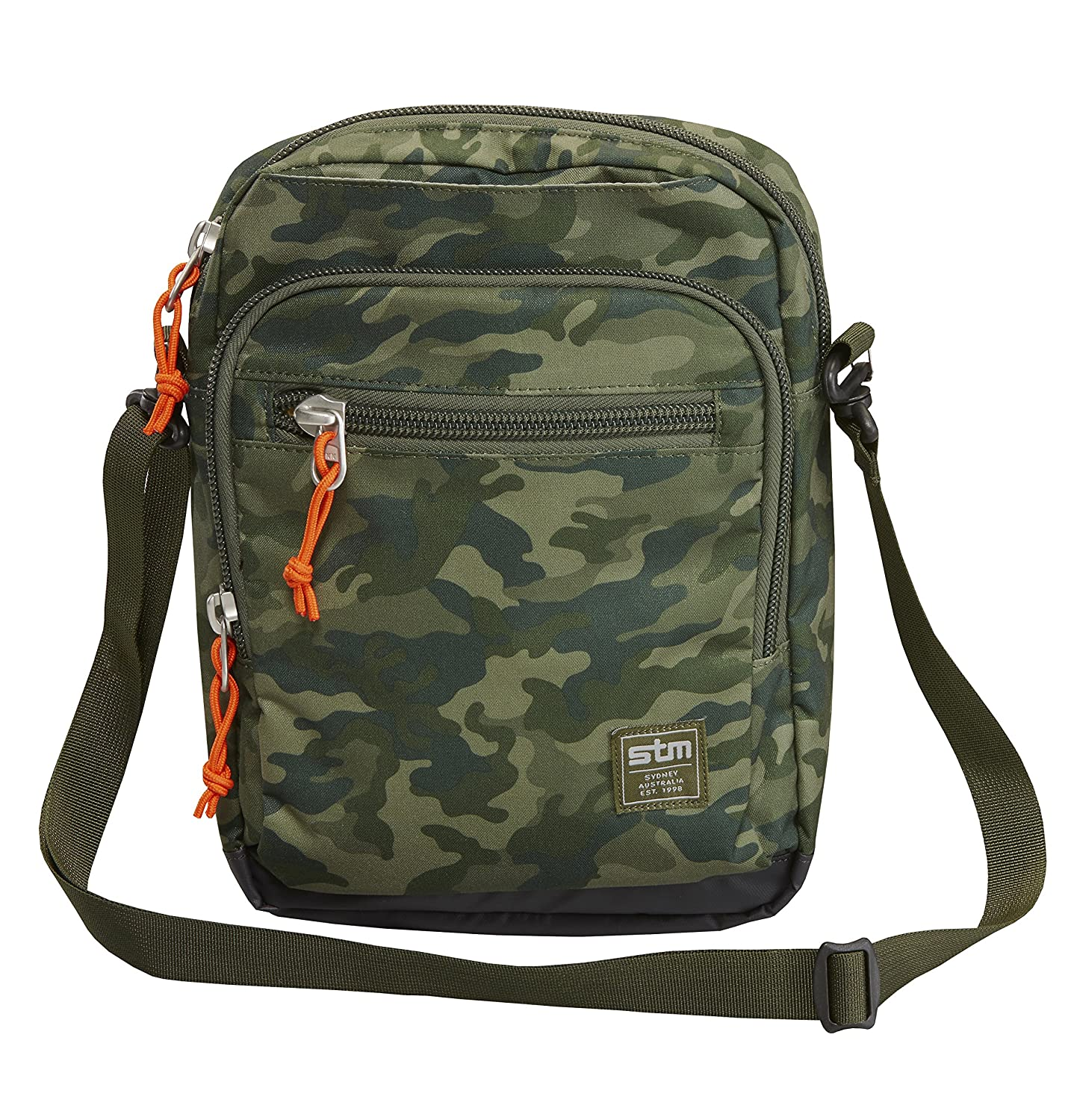 STM Link Tablet Shoulder Bag, for 8 to 10-Inch Tablets - Green Camo (stm-212-039J-36)