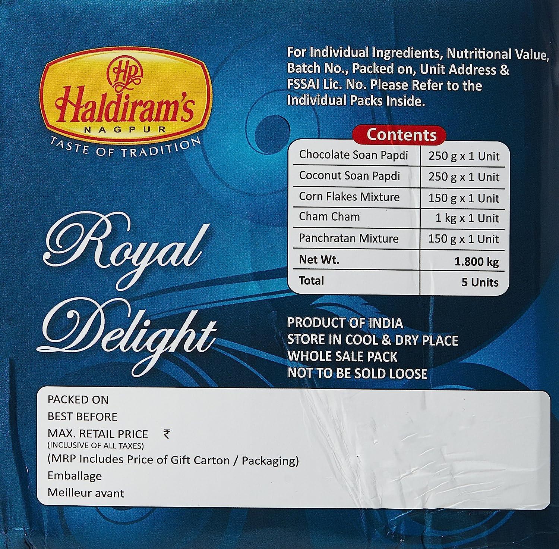 Haldiram's Gift Box, Royal Treasures, 1800g