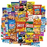Snack Chest Care Package (40 Count) Variety Snacks Gift Box - College Students, Military, Work or Home - Over 3 Pounds of Chips Cookies & Candy!