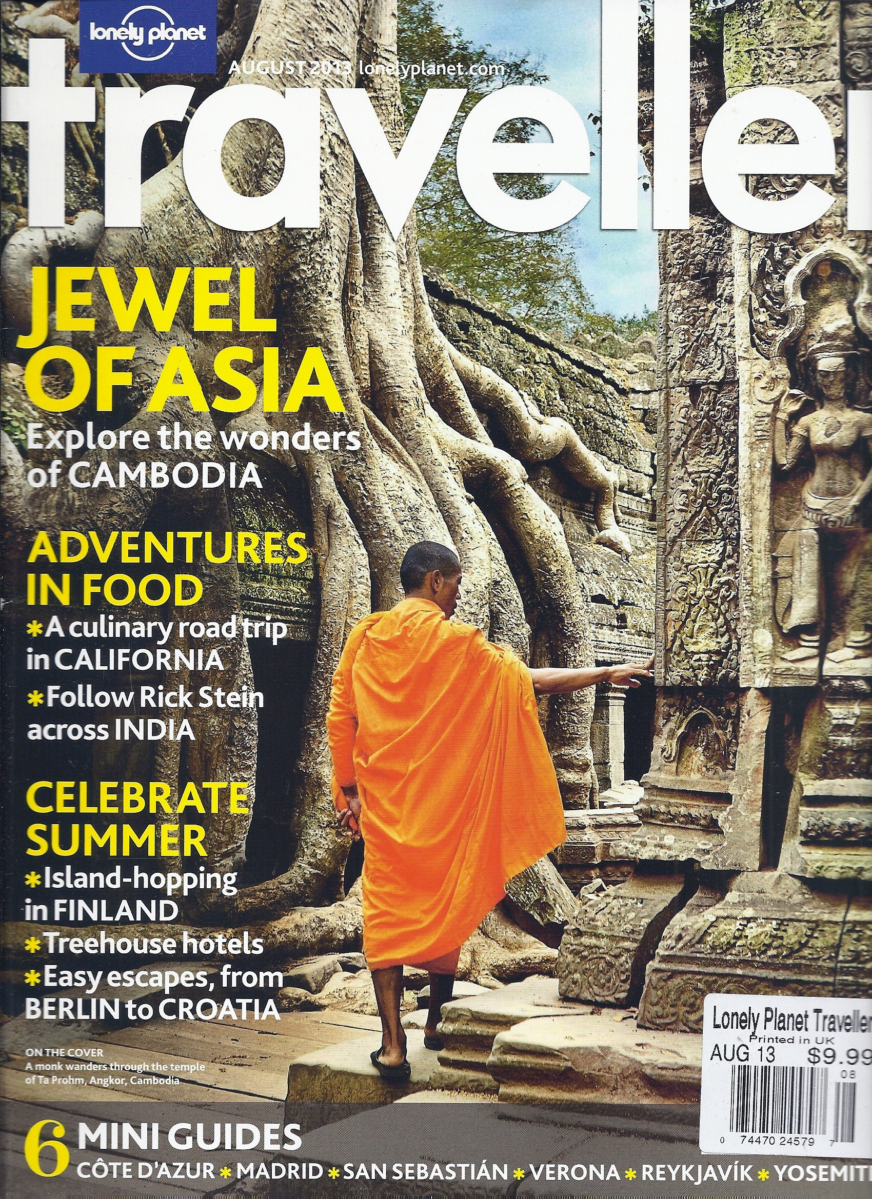 Lonely Planet Traveler (Issue #56) (August 2013 (Jewel of Asia)) pdf