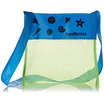 Sand Dipper Shell Collecting Beach Bag: Toys & Games