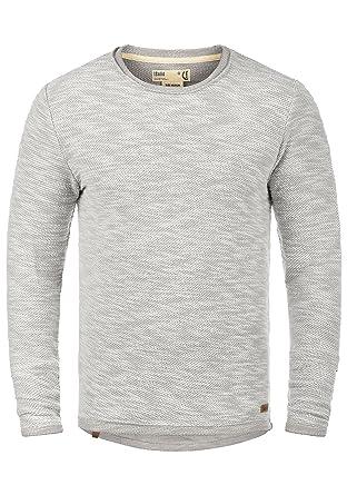 34f97fd471f9 !Solid Flocky Herren Sweatshirt Pullover Pulli Mit Rundhalsausschnitt Aus  100% Baumwolle  Amazon.de  Bekleidung