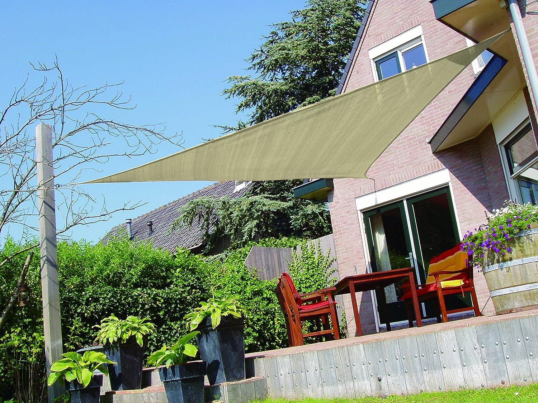 amazon com suesport 16 u0027x16 u0027x16 u0027 uv block fabric patio canopy