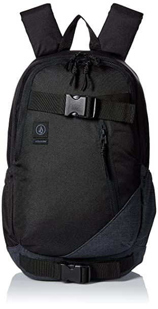 d9ab0b2e2 Volcom Unisex Substrate Backpack, Black, One Size: Amazon.ca ...