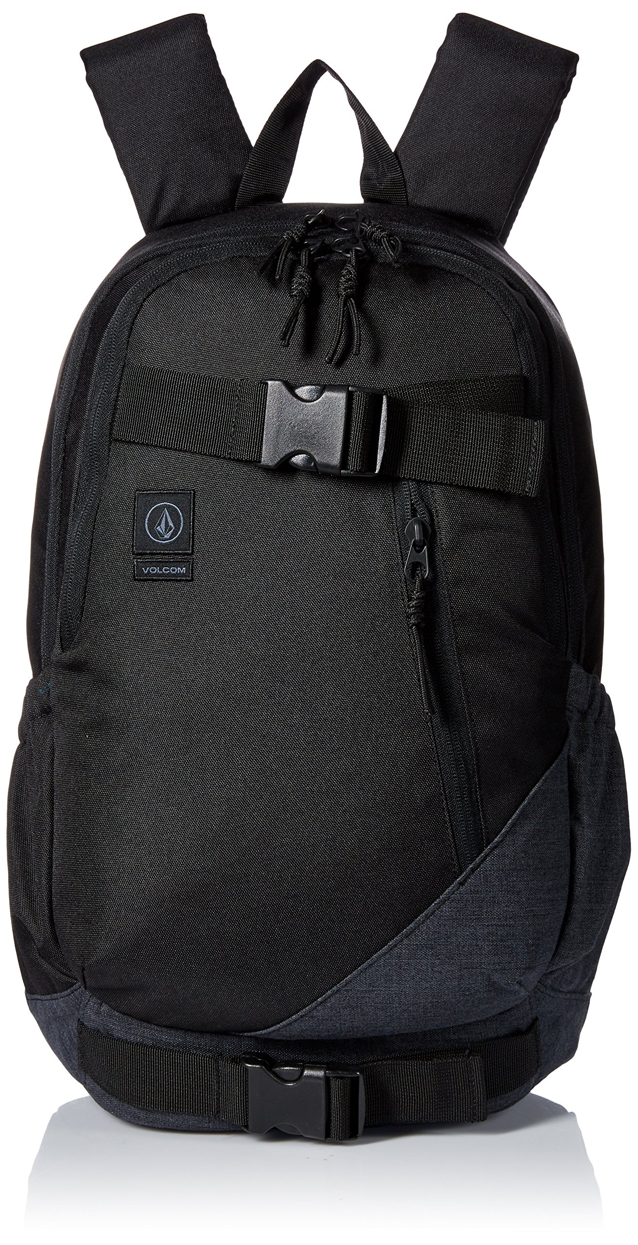 Volcom Unisex Substrate Backpack, Black, One Size