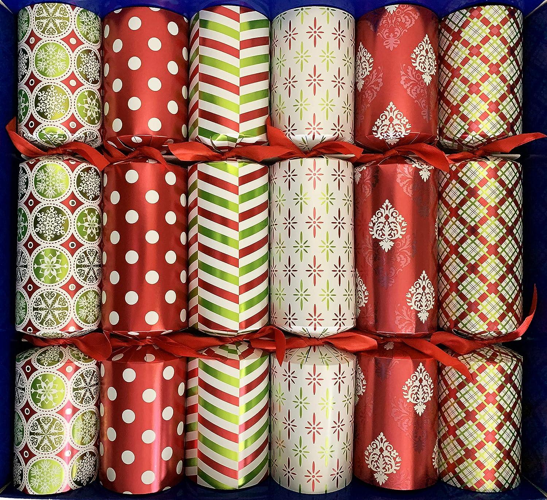 Crackers Ltd - Caja de selección grande de Navidad con regalos para toda la familia