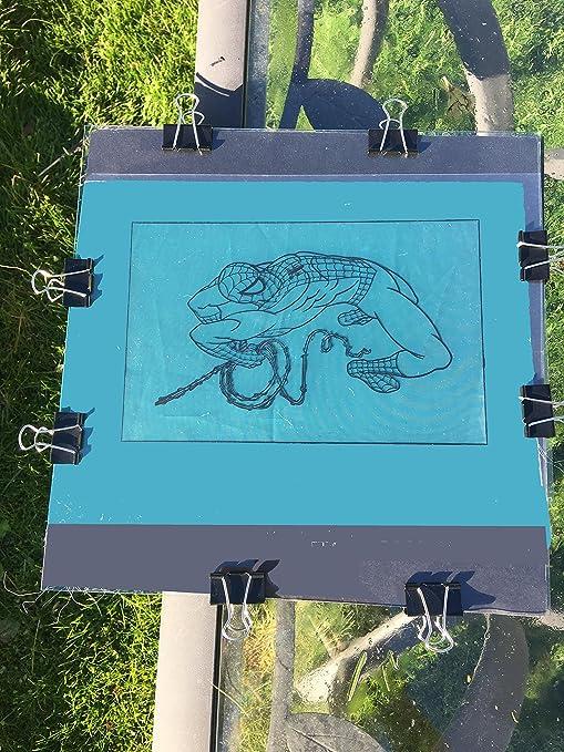 DIY Custom luz Solar Protector de diseño de (Pack de 3). Arte Para ...
