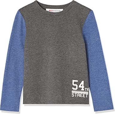 Marchio RED WAGON T-shirt a Manica Lunga con Stampa Bambina