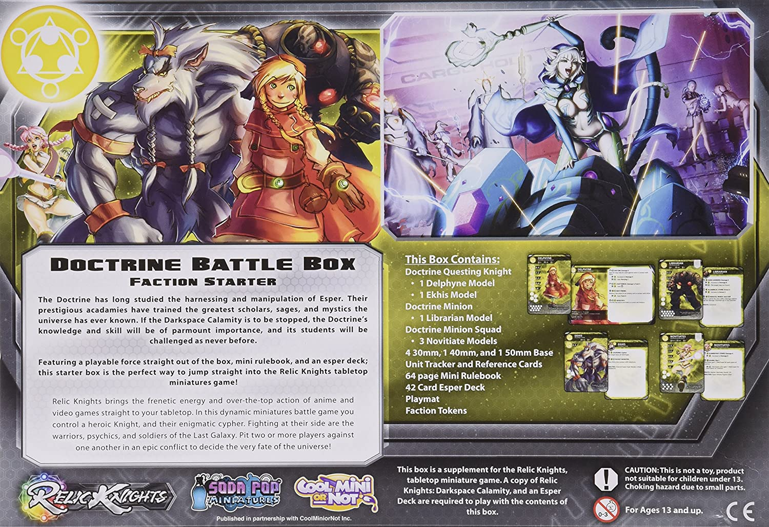 Doctrine Battle Box Game Toys Games Cerci Speed Circuit Pacer Relic Knights Ebay