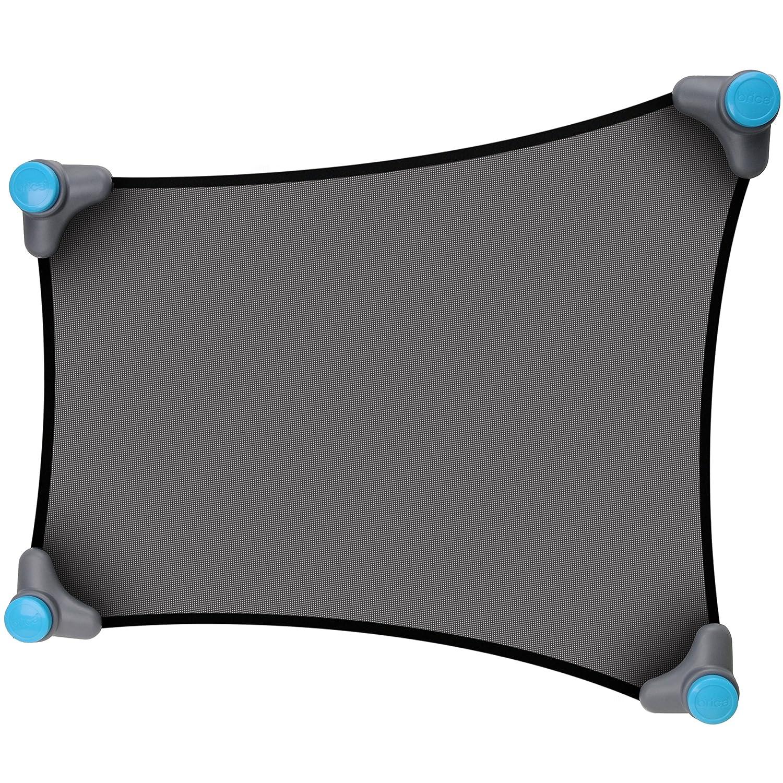 Munchkin BRICA Stretch-to-Fit Sun Shade, Grey, Black 61012