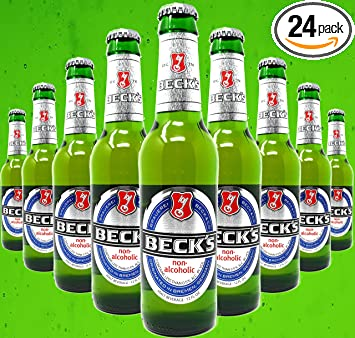 Beck's Non-Alcoholic Beer, 12-oz (350 ml) Case Of 24 Glass Bottles