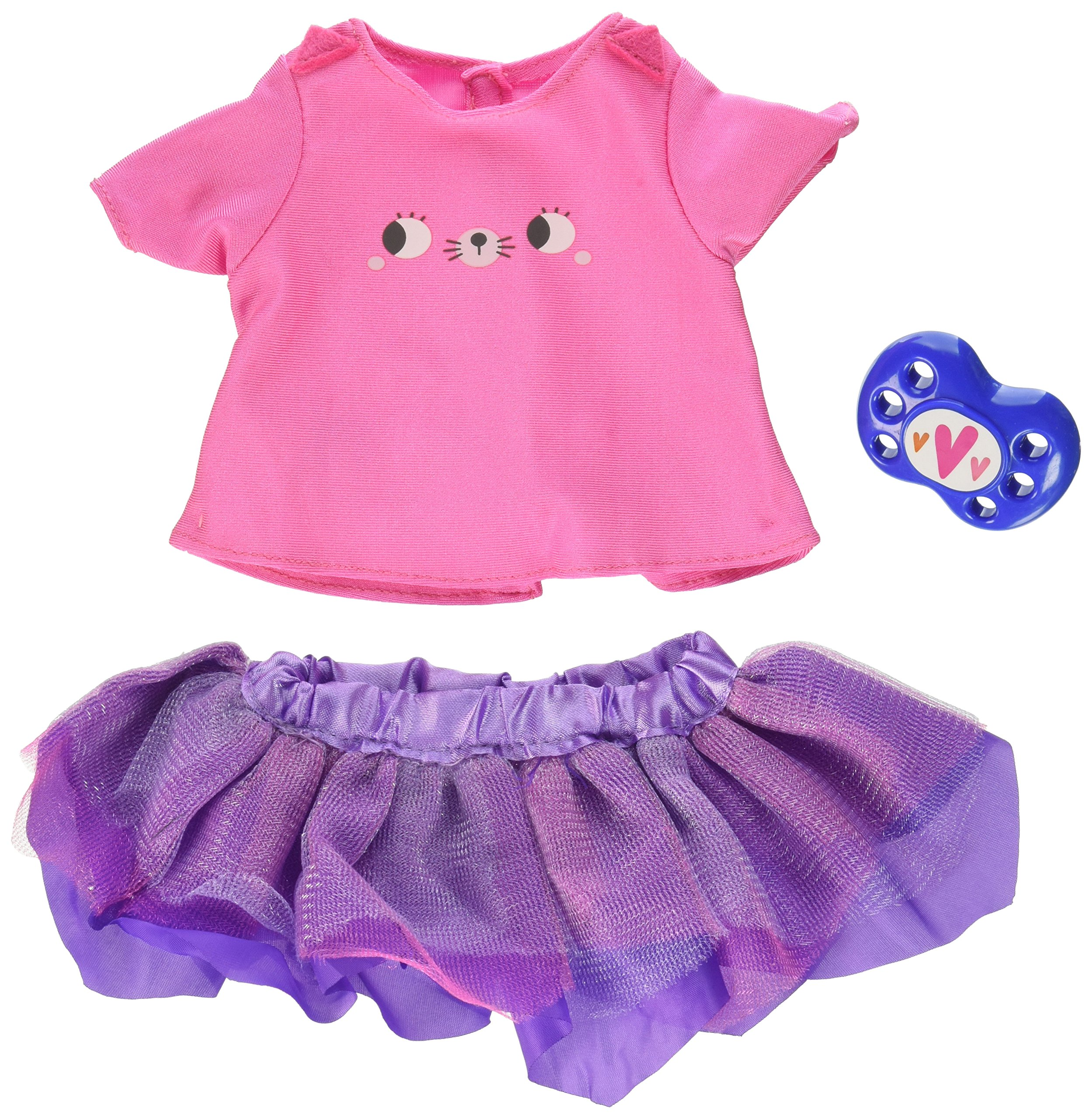 Baby Alive Pink Tee & Tutu Single Outfit Set
