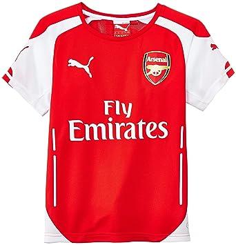 PUMA Hose AFC Kids Replica Shorts - Camiseta de equipación de fútbol para niño: Amazon.es: Deportes y aire libre