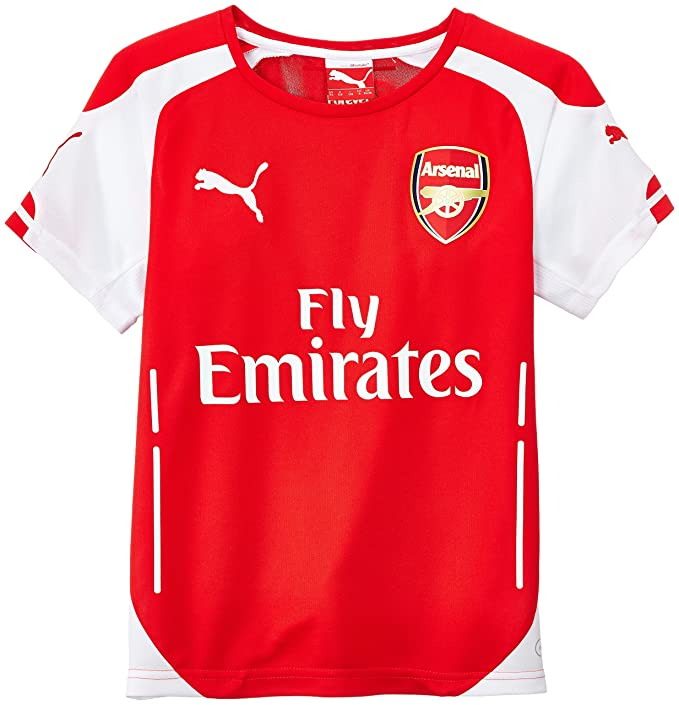 buy online dec89 1a386 Puma - Children's Replica Football Jersey - Arsenal Home Kit