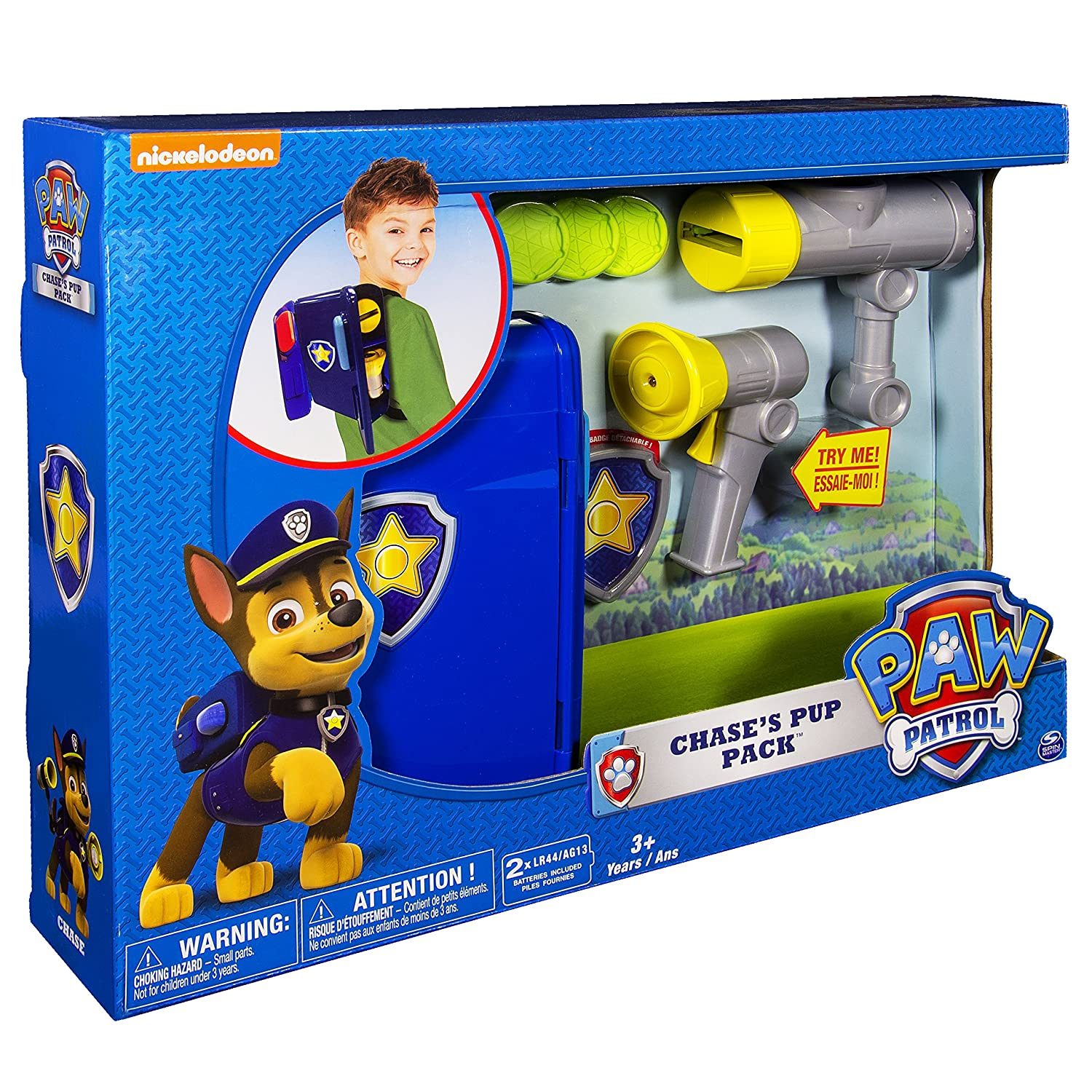 Paw Patrol Chases Pup Pack Spin Master 20070091