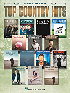 The best in country sheet music easy piano sheet music kindle top country hits songbook fandeluxe Images