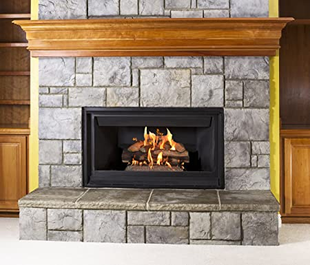 sure heat sh18dbnl 60 vented gas fireplace logs 18 amazon co uk rh amazon co uk Amazon Gas Fireplace Inserts Home Gas Fireplace