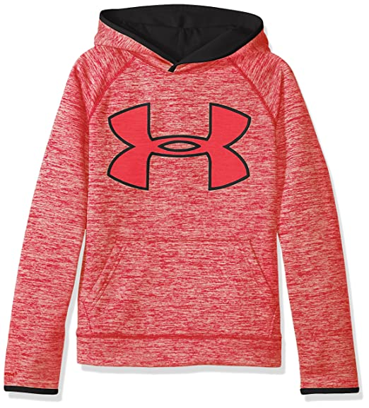 6c63a0e81581e Amazon.com  Under Armour Boys  Storm Armour Fleece Twist Highlight Hoodie   Clothing