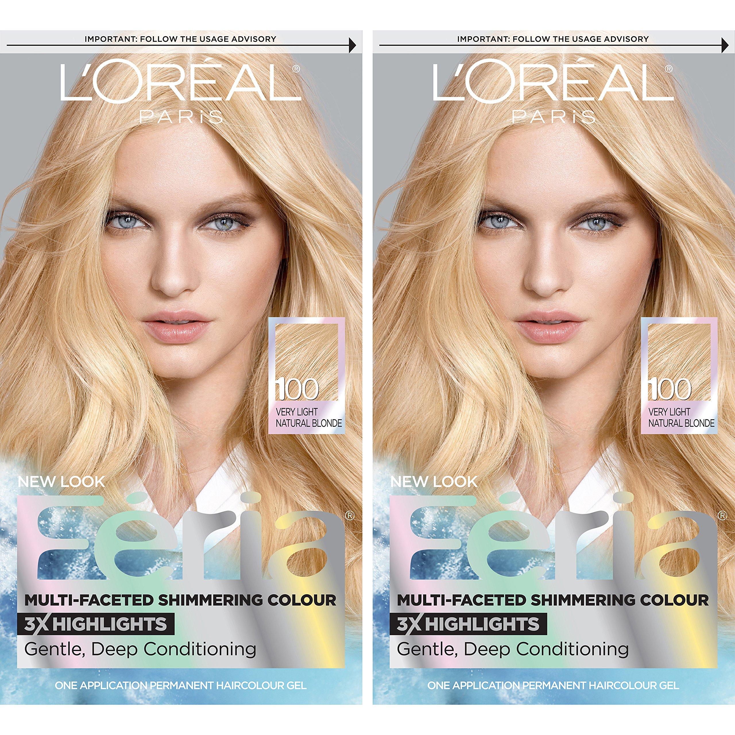 Amazon.com : L'Oréal Paris Feria Permanent Hair Color, 93 ...