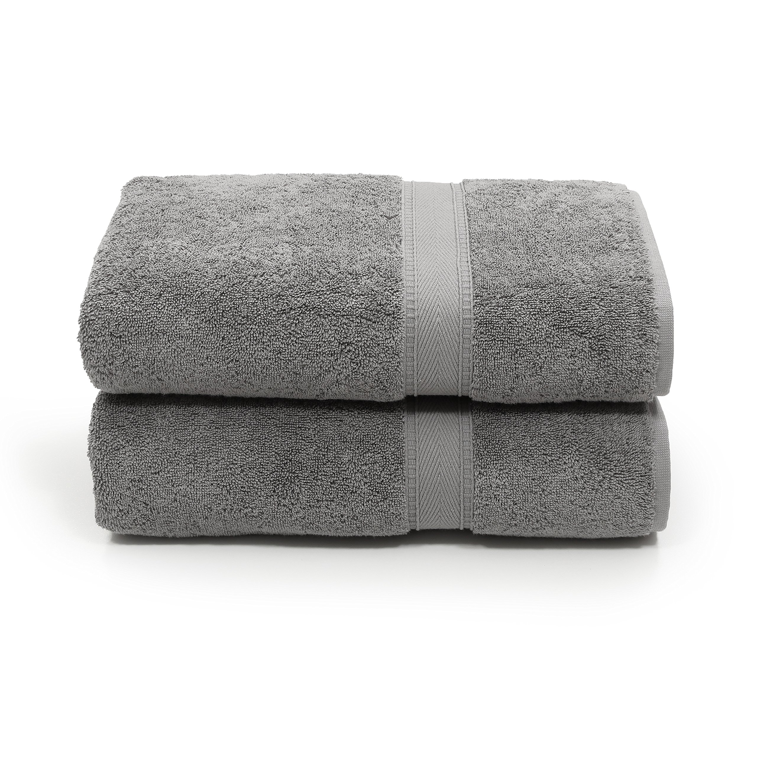 Linum Home Textiles SN96-2BT Bath Towel, Dark Grey