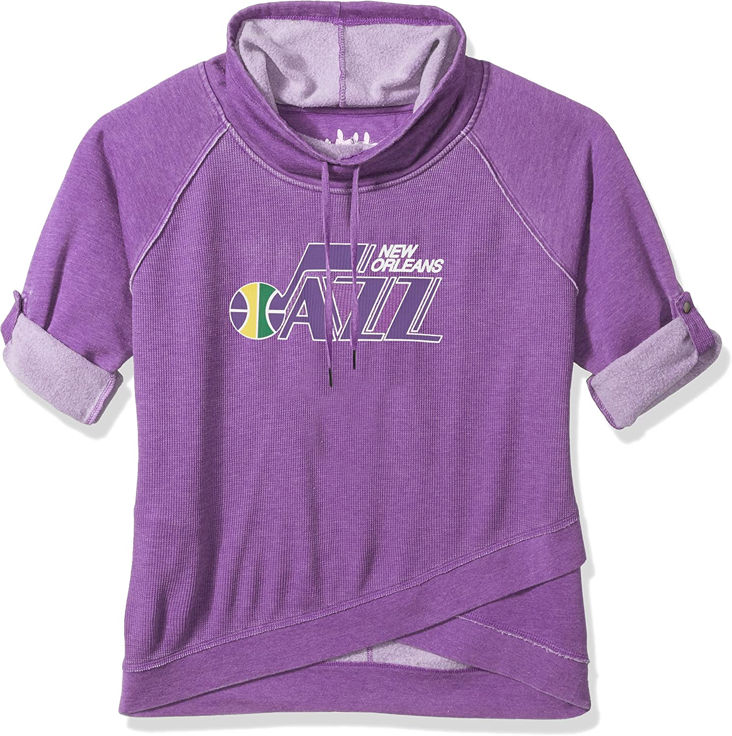 Purple Touch by Alyssa Milano NBA New Orleans Jazz Wildcard Top Plus 2X