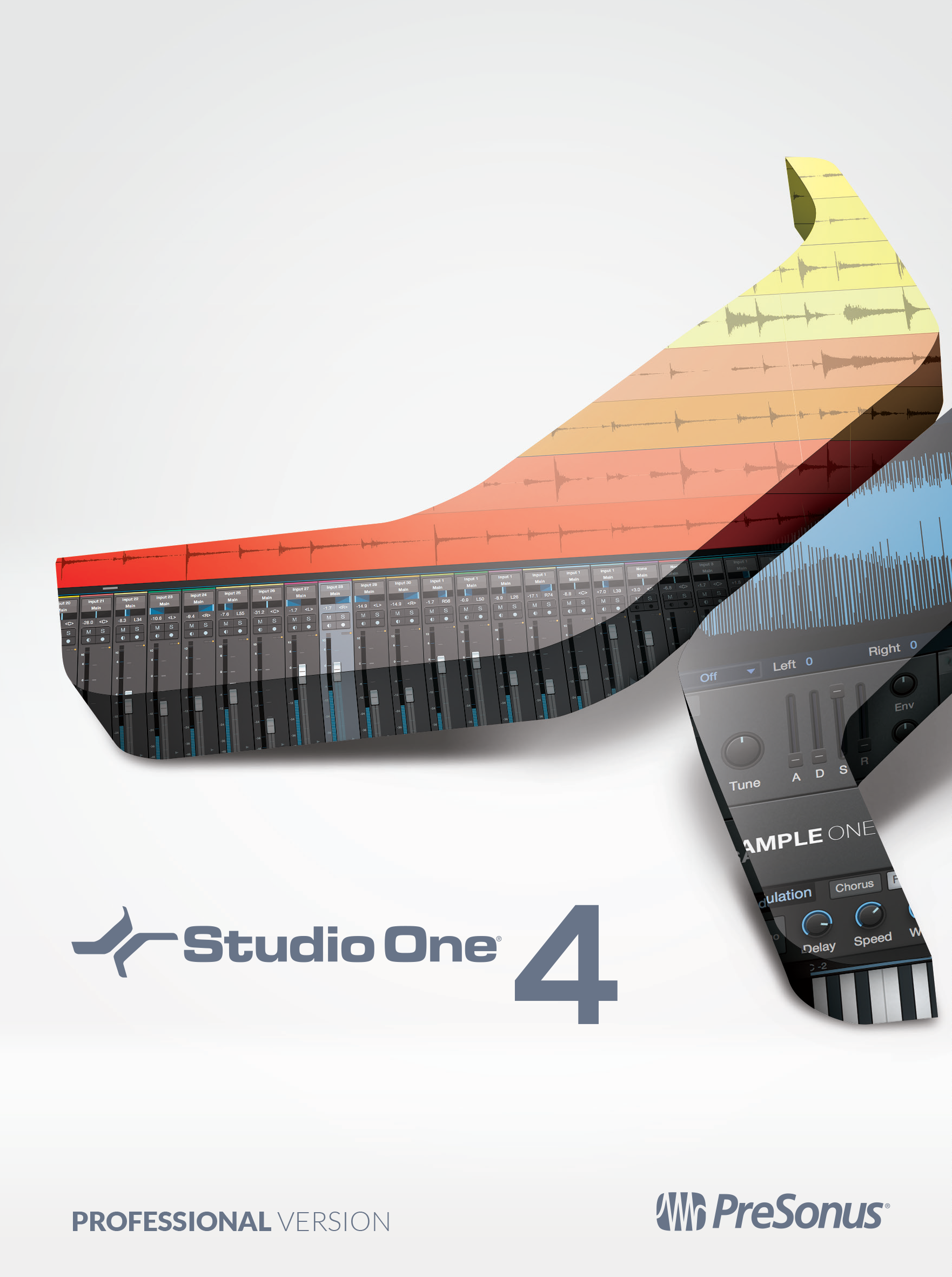 PreSonus Studio One 4 Professional Recording