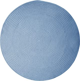 product image for Colonial Mills Boca Raton Area Rug 3x3 Blue Ice