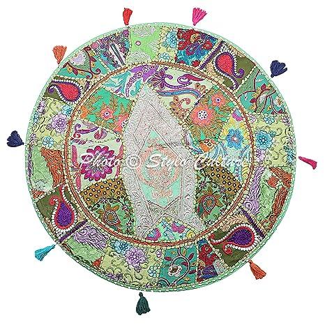 Stylo Culture Funda de cojín de Piso de algodón Tradicional ...
