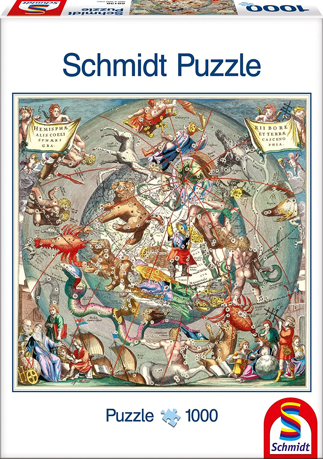 Schmidt ancient astrological map adult jigsaw puzzle 1000 pieces schmidt ancient astrological map adult jigsaw puzzle 1000 pieces amazon toys games gumiabroncs Image collections