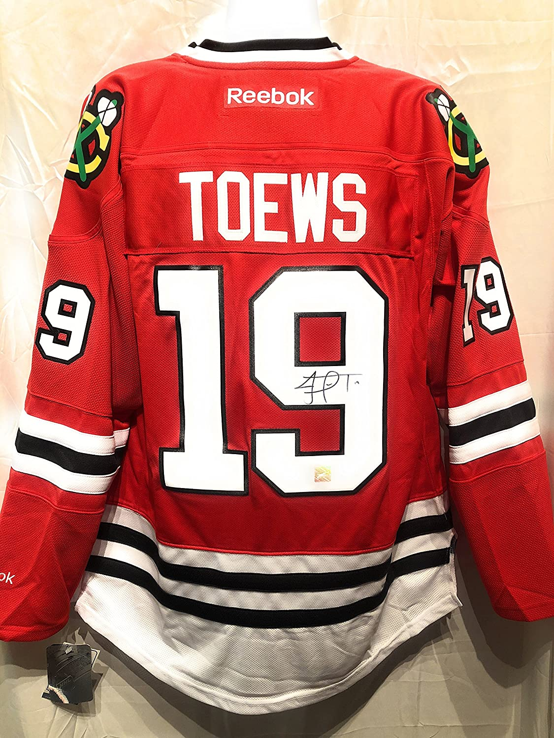 Jonathan Toews Chicago Blackhawks Signed Autograph Reebok Jersey Frameworth  Hologram Certified at Amazon s Sports Collectibles Store f1e82dc7a