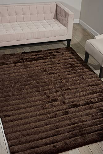 Nourison Urban Safari URBA1 Mahog Rectangle Area Rug