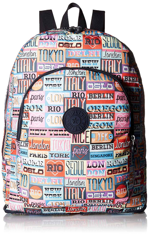 Amazon.com: Kipling Womens Earnest Printed Packable Backpack, HLLOWEEKED: Shoes
