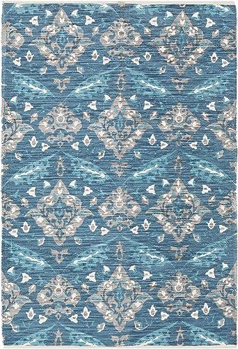 Artistic Weavers Elaine Wyatt Rug, Blue, 8 x 11
