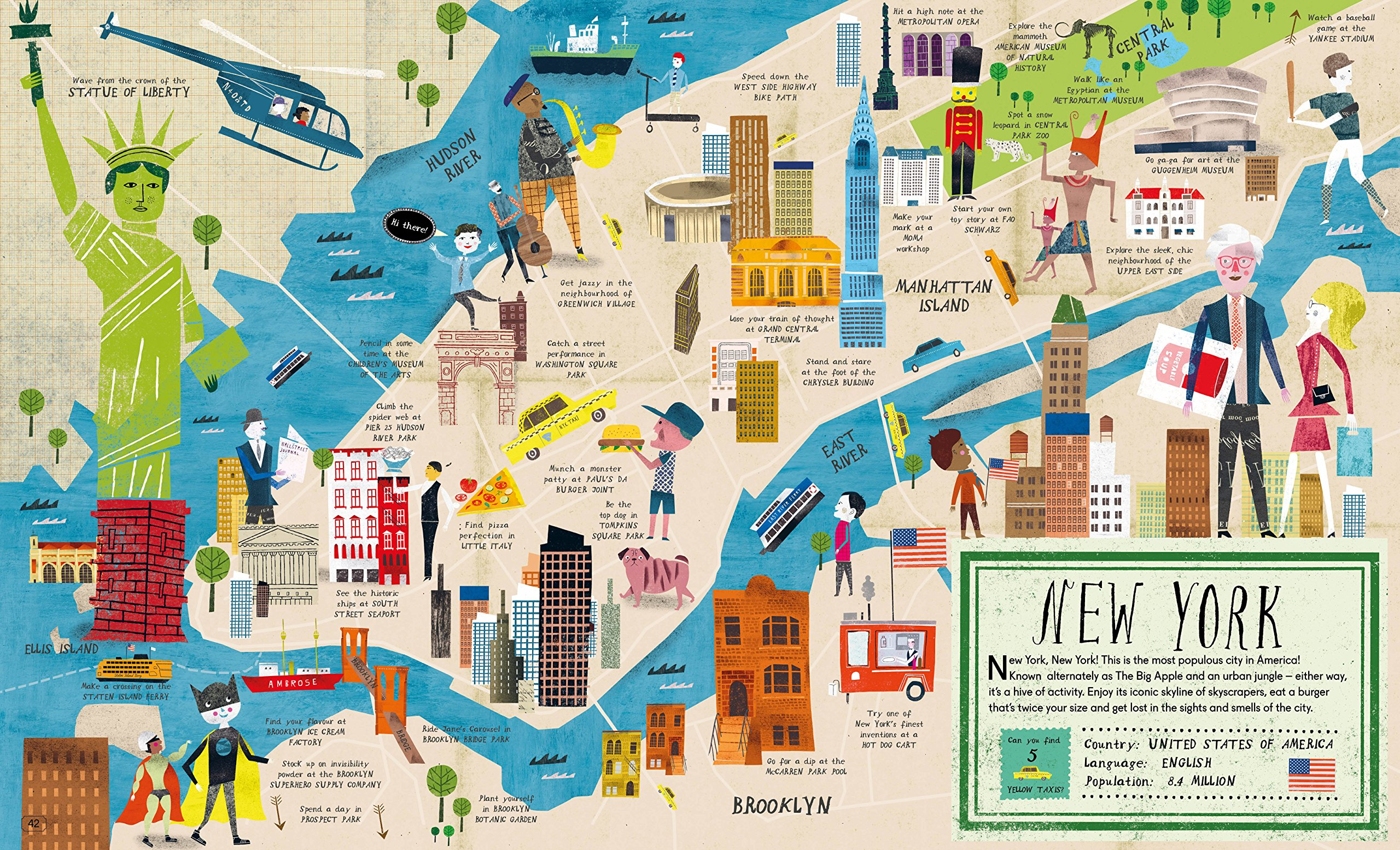 City Atlas Discover the Personality of the Worlds BestLoved