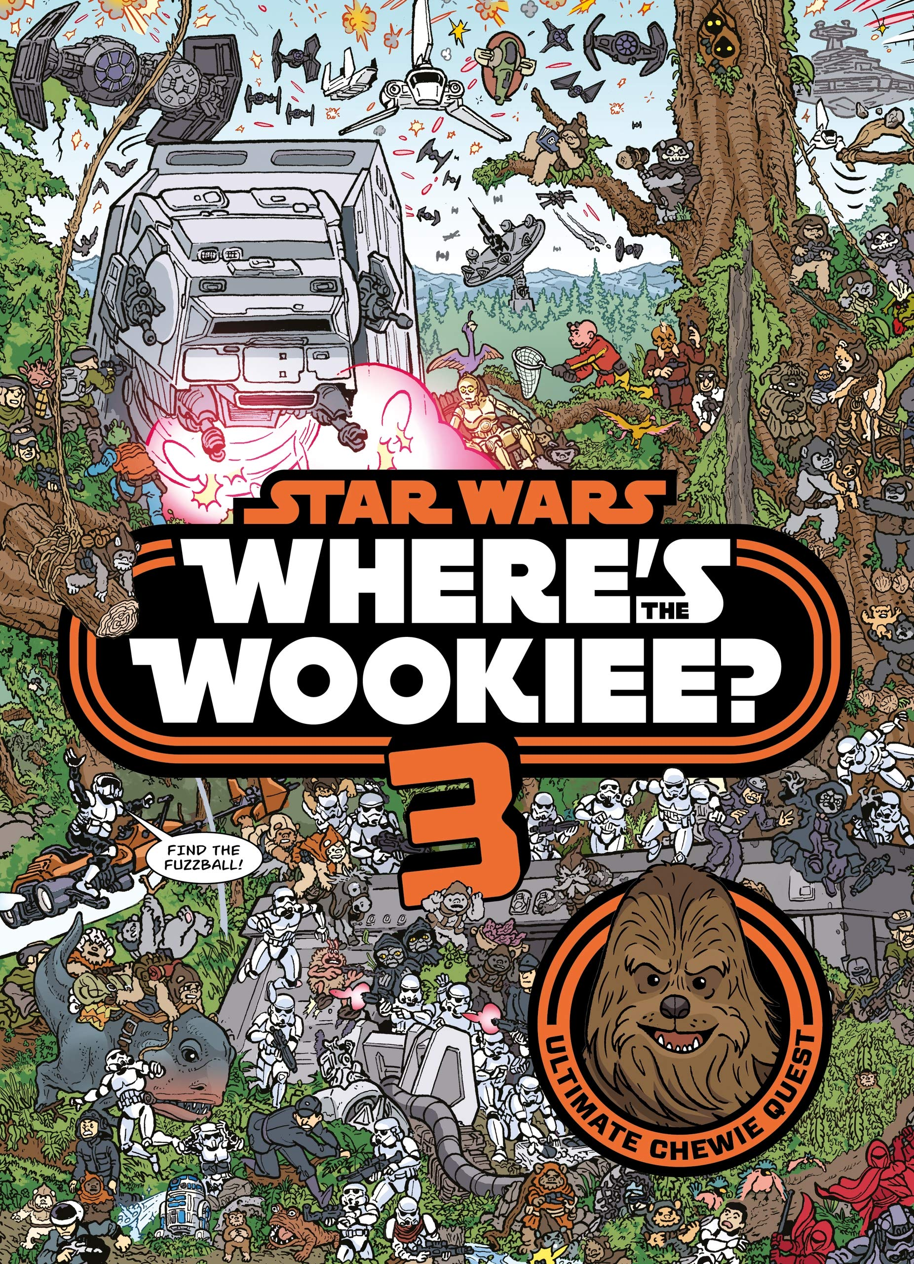 Star Wars  Where Is The Wookiee 3  Star Wars Activity Books
