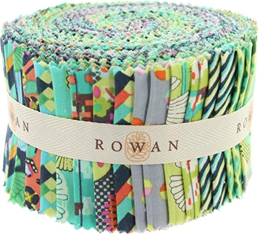 20 Strips Kona Cotton Snow 2.5 inch Pre Cut Quilting Strips Jelly Roll Fabric