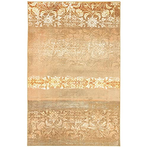 Mohawk Home Blurred Baroque Blush Area Rug, 5 x8 ,