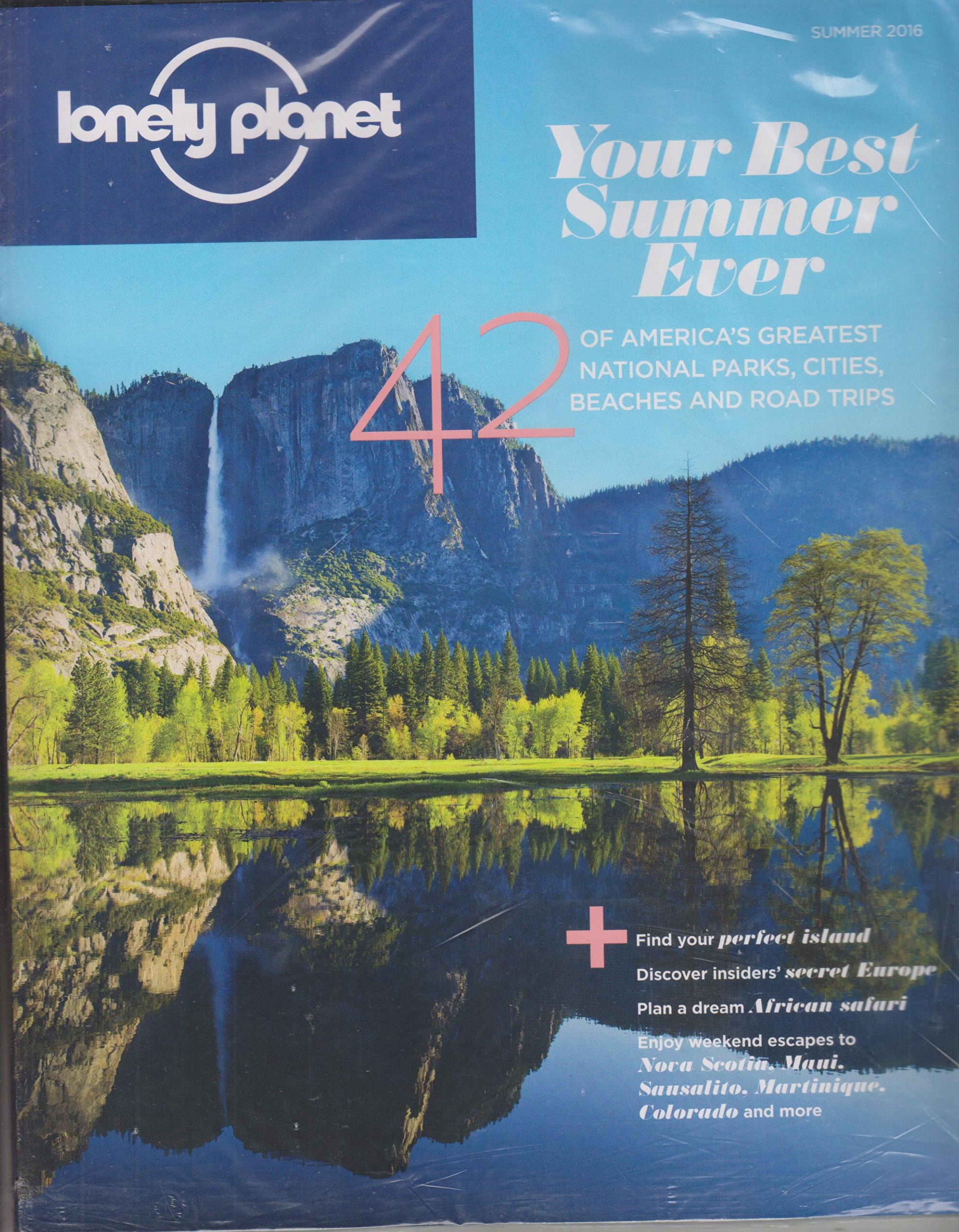 Download Lonely Planet Summer 2016 Your Best Summer Ever 42 of America's Greatest National Parks, Cities, Beaches and Road Trips PDF