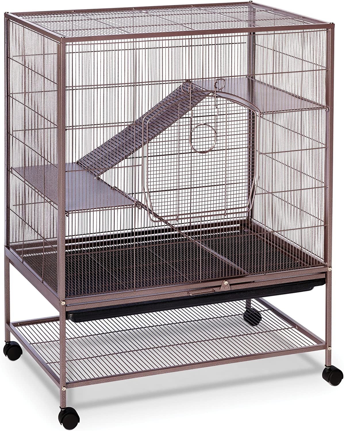 B001W8MDKO Prevue Rat and Chinchilla Cage 495 Earthtone Dusted Rose, 31 x 20.5 x 40 IN A13eGvWokgL.SL1500_