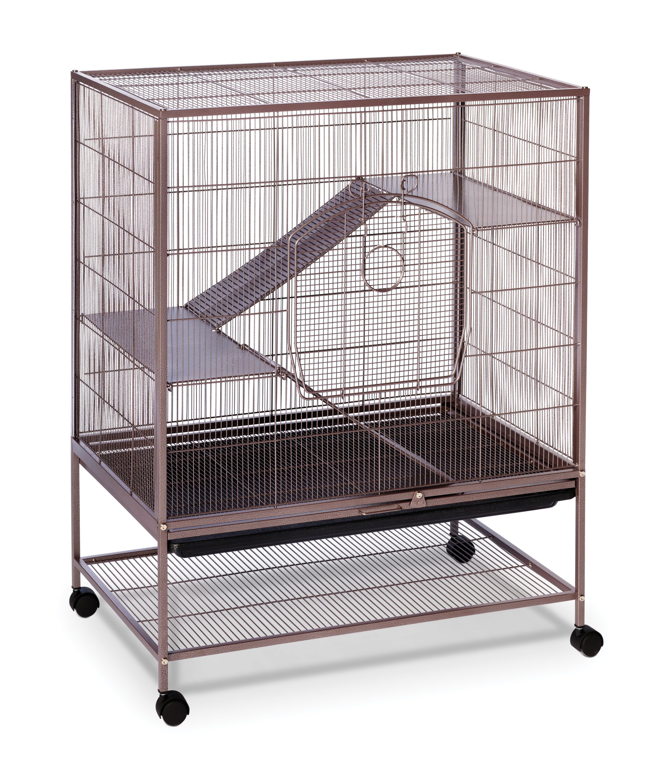 Prevue Rat and Chinchilla Cage 495 Earthtone Dusted Rose, 31 x 20.5 x 40 IN by Prevue