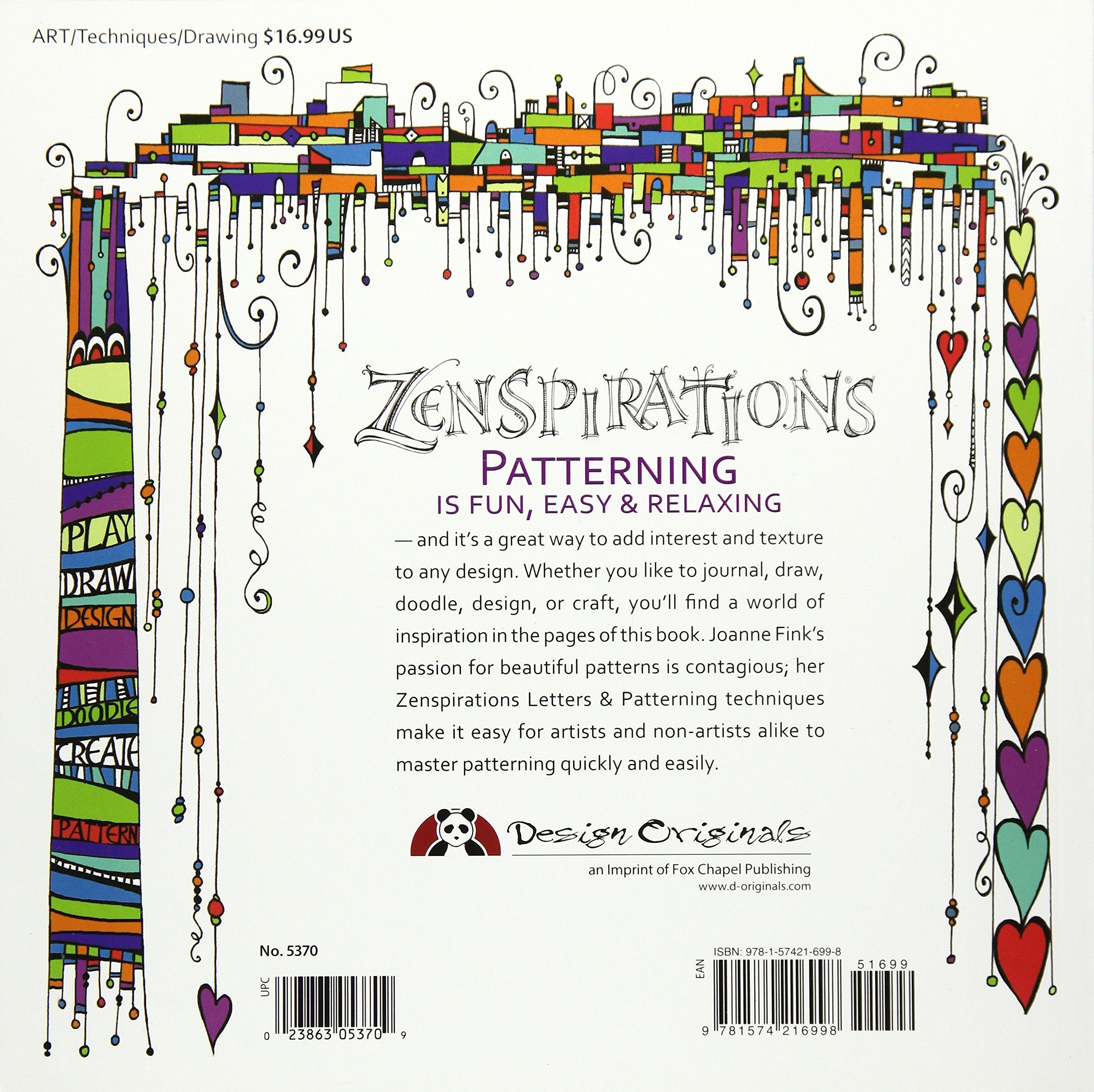 Zenspirations: Letters & Patterning: Amazon.de: Joanne Fink ...