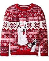 Blizzard Bay Boys' Llama Fitness Xmas Sweater