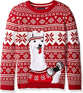 Llama Christmas Sweater.Amazon Com Blizzard Bay Boys Llama Xmas Sweater Clothing