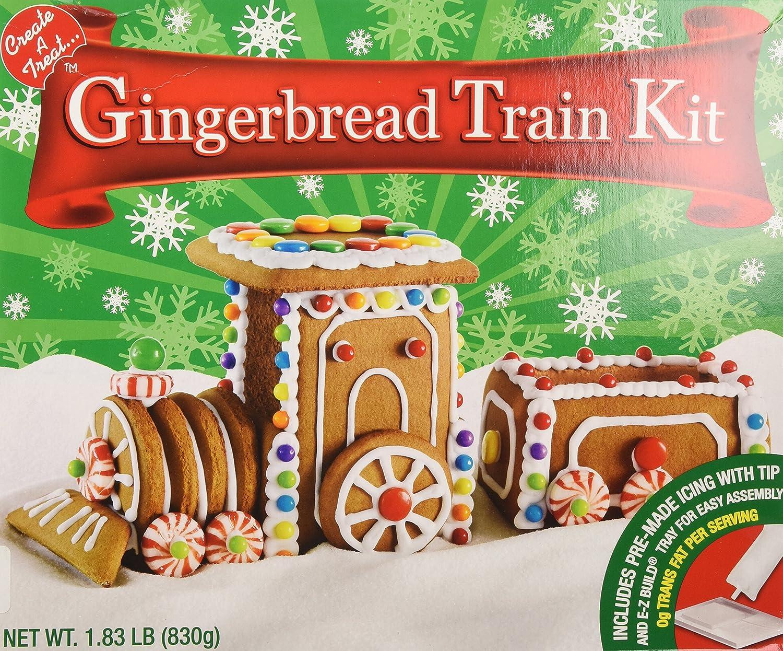 Gingerbread Ginger Bread Train Kit